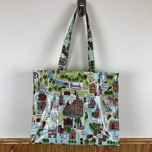 Harrods | Zippered Shopping Tote